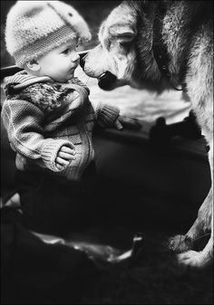 Such a cute photo! Dog Photos, Baby Pictures, Cute Pictures, Baby Love, Dog Love, Puppy Love, Mans Best Friend, Best Friends, Animals For Kids
