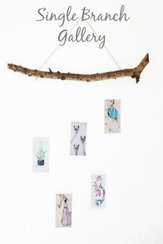 Create a simple wall gallery with this idea! http://www.hometalk.com/l/XfC