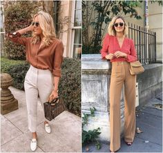 Oufits Casual, Business Casual Outfits, Look Casual Chic, Casual Looks, Color Blocking Outfits, Fashion Jobs, Ladylike Style, Tumblr Outfits, Work Looks