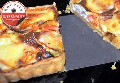 La tarte jambon Serrano, tomates cerises  chaussée aux moines de Cooking N'Co
