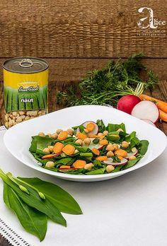 Salata de leurda cu naut Quinoa, Cantaloupe, Vegan, Recipes, Food, Salads, Rezepte, Meals, Ripped Recipes