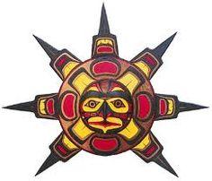 Native American Sun Art