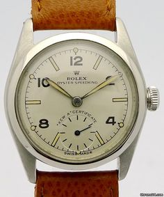 "Rolex ad: £8,599 Rolex OYSTER SPEEDKING ""Kew-A-Certifikate"" Ref. 5056... Ref. No. 5056; Steel; Manual winding; Condition 2 (fine); Year um 1915; Location: Germany, Berl"