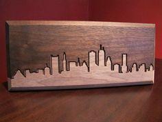skyline silhouette outline drawing boston new by LittleRhodyCrafts