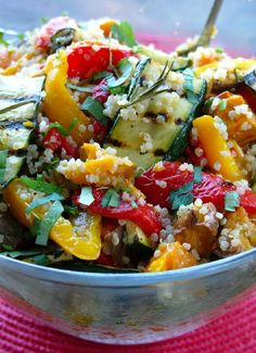 Low FODMAP & Gluten free Recipe - Moroccan roasted veg with tahini dressing