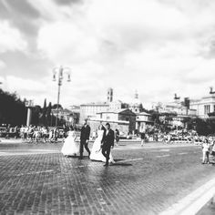 Scene da un doppio matrimonio parte IV  Scenes from a double marriage (in Rome) IV  #love #wedding #loveinrome #foriimperiali