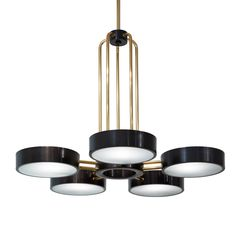 The Abbott Five Light Chandelier  Traditional, Transitional, MidCentury  Modern, Contemporary, Industrial, Organic, Glass, Metal, Ceiling by Studio Van Den Akker