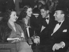 Myrna Loy, Loretta Young, Arthur Hornblow
