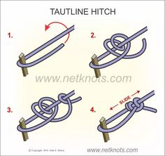 Tautline Hitch                                                                                                                                                                                 More