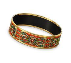 Hermes Enamel Bracelet Jewelry Fashion Enamels