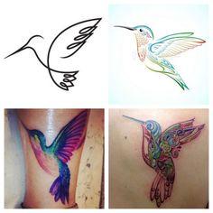 Hummingbird Tattoos: