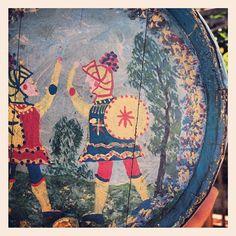 Pupi siciliani #sicily #ceramic #10x10 #anitaliantheory