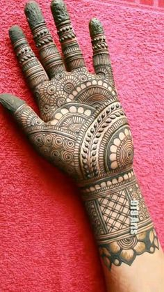 Mehndi Designs Front Hand, Mehndi Designs For Kids, Floral Henna Designs, Latest Henna Designs, Mehndi Designs Book, Mehndi Designs For Beginners, Unique Mehndi Designs, Mehndi Designs For Fingers, Beautiful Mehndi Design