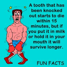 I knew about the milk trick because I once overheard my dentist aunt telling it to someone over the phone