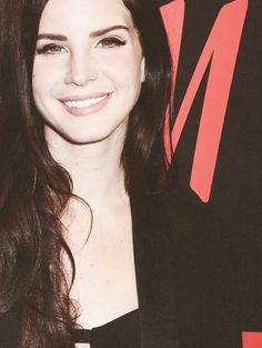 Lana Del Rey on the red carpet for H&M