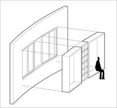 Modern Window Seat Idea – Add a suspended wood surround to standard windows to…