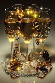 Champagne... GIFS HERMOSOS: imagenes navidñas encontradas en la web