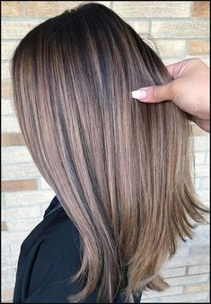 Best Balayage Ombre Hair Color Ideas for - Frisuren Brown Ombre Hair, Ombre Hair Color, Hair Color Balayage, Brown Hair Colors, Balayage Ombre, Hair Color 2018, Brown Blonde, Beige Blond, Purple Ombre