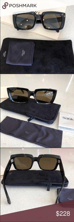 a8f8dbda24 Celine Sunglasses 😎 Celine Emma black sunglasses New condition. 100%  authentic Includes Celine card