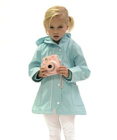 Look at this #zulilyfind! DRENCH Teal City Coat - Infant, Toddler & Girls by DRENCH #zulilyfinds