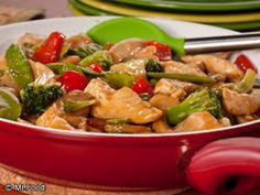 Sweet and Sour Chicken with Vegetables | EverydayDiabeticRecipes.com