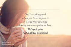 """Hopes On Hold: incourage.me by @holleygerth  --""""Just because what God has said to us doesn't look the way we pictured doesn't mean it's not real."""" #hope #waiting #valley #godsizeddreams"""