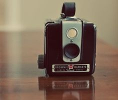 Kodak Brownie Hawkeye Flash vintage camera