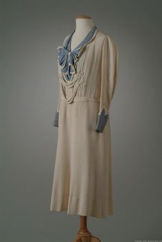 Day Dress early 1930's