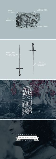 """""""It's just a stupid sword,"""" she said, aloud this time… but it wasn't. #got #asoiaf"""
