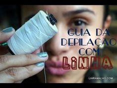 Guia da depilação com linha   Lih Ramalho  
