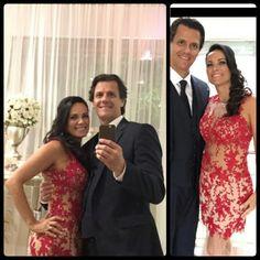 Vestido exclusivo sob medida por Gabriela Casagrande de Melo.