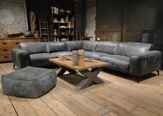 banking leer Madeira Bank van leer of stof in ruim 43 kleuren Relax, Van, Couch, Furniture, Home Decor, Wood, Settee, Decoration Home, Sofa