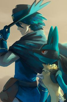 Pokemon Fan Art, Pokemon Team, Ash Pokemon, Pokemon Games, Pokemon Movies, Pokemon Stuff, Lucario Pokemon, Pokemon Emerald, Digimon