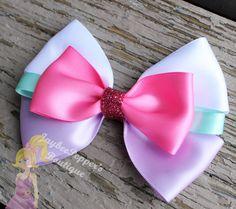Daisy Duck hair bow Mickey Mouse hair clip disney by JaybeePepper