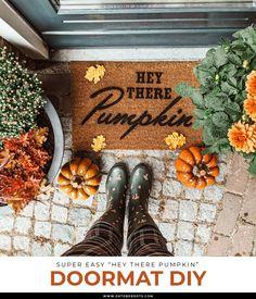 Fall Diy, Autumn Diys, Stencil, Pumpkin, Interior, Prints, Home Decor, Pumpkins, Decoration Home