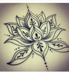 11 Details You By no means Knew About Henna Lotus Flower Tattoo Designs Pretty Tattoos, Love Tattoos, Beautiful Tattoos, New Tattoos, Body Art Tattoos, Tatoos, Henna Tattoos, Drawing Tattoos, Tattoo Sketches