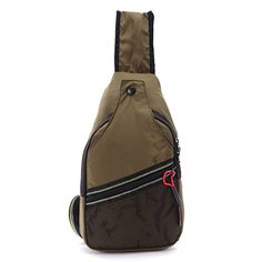 Packable Nylon Sling Bag Small Shoulder Backpack Cross Body Backpack for Men Women AmyGreen *** For more information, visit image link.(This is an Amazon affiliate link and I receive a commission for the sales)