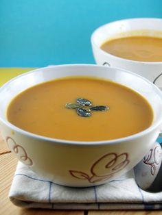 Aromatična juha od muškatne tikve » Voće i povrće
