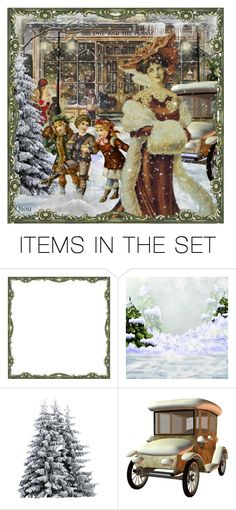 """Christmas memories....."" by qiou ❤ liked on Polyvore featuring art"