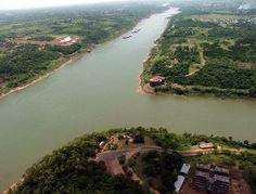 Argentina. Misiones. Triangulo de las Tres Fronteras (Argentina, Brasil y Paraguay)