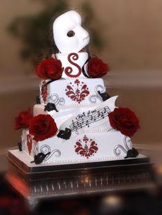 Phantom of the Opera Cake!
