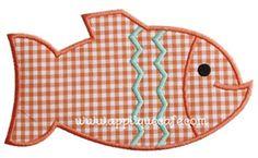 Fish 4 Applique Design
