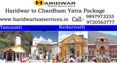 Char Dham is referred to the four most blessed Hindu pilgrimage of India nestle in Indian Himalayas of Uttarakhand state of India. Chardham is the most recognized and blessed journey in India that include visiting to four magnificent shrines as well as Yamunotri, Gangotri, Kedarnath and finally the Badrinath Dham. Haridwar Taxi Services are one of the main Travel and Tourism Company in Haridwar India. We specialize in Chardham yatra from haridwar.