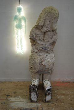@ Rotterdam Contemporary Art Fair installation Broken Safety detail Marieke Bolhuis