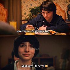 """1,869 Likes, 25 Comments - Stranger Things (@milevenslay) on Instagram: """"MIKE WITH EVERYONE ELSE vs. MIKE WITH ELEVEN — Mike with El or Mike with everyone else? — Give…"""""""