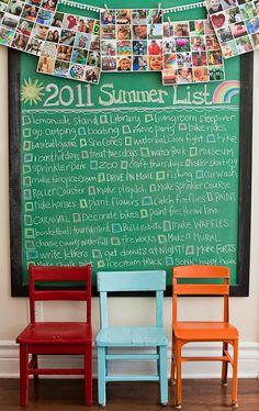 next summer...