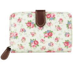Cath Kidston - Trailing Ditsy Folded Zip Wallet
