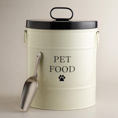 Pet Food Canister with Scoop | World Market