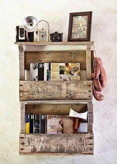 Inspiración deco- reciclaje   Decorar tu casa es facilisimo.com