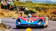 Toine Hezemans/Masten Gregory - Alfa Romeo T33/3 - 1970 Targa Florio